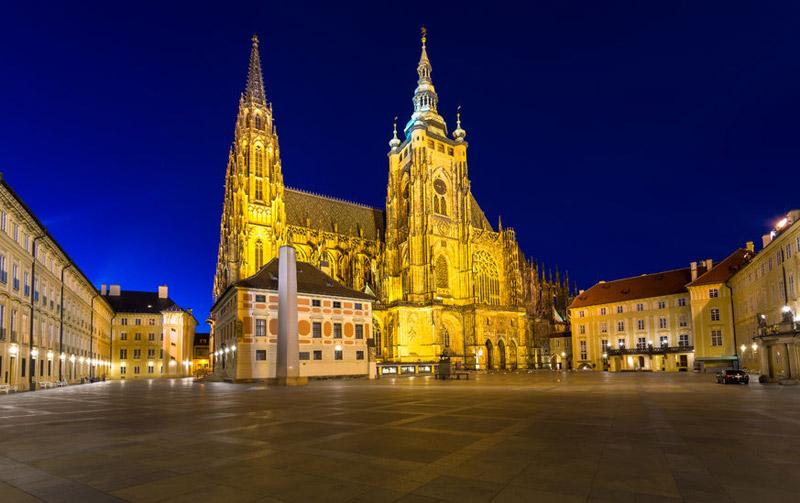Saint Vitus Cathedral Praguego