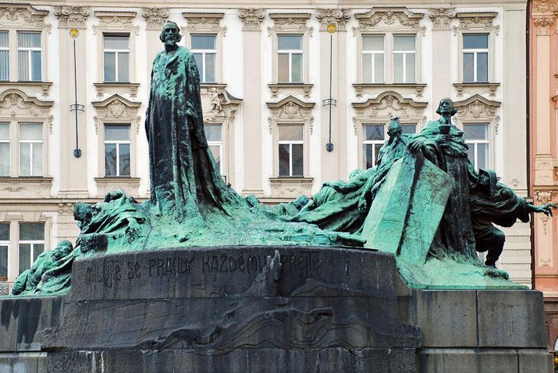 Jan Hus Memorial Praguego