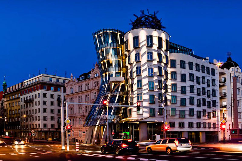 Image result for The Dancing House, Prague